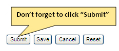 """Don't forget to click """"Submit"""""""